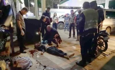 Motociclista muere al ser embestido por hijo de ex intendente