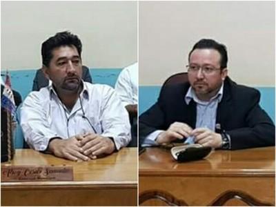 """Concejal Samudio a su colega Bonzi: """"calladito te ves más bonito"""""""