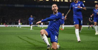 Con Hazard a la cabeza, el Chelsea supera al West Ham