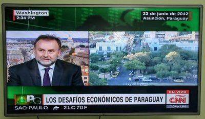Paraguay seguirá creciendo con políticas públicas responsables, señaló ministro