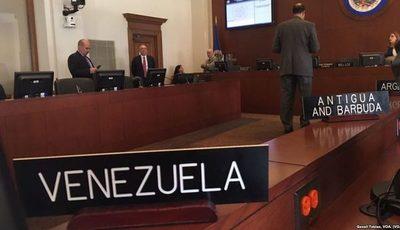 OEA discute la situación en Venezuela este martes