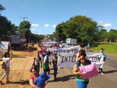 Pobladores de J. Augusto exigen intervención municipal