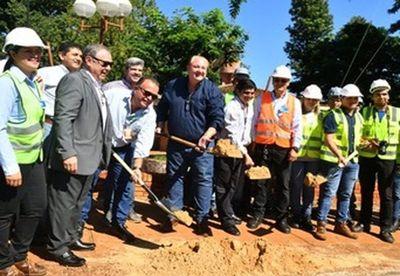 Obras de revitalización en el Hospital Regional de CDE