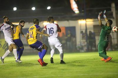 Luqueño sacó un agónico empate ante Nacional
