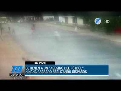 """Detienen a un """"asesino del fútbol"""" en Lambaré"""