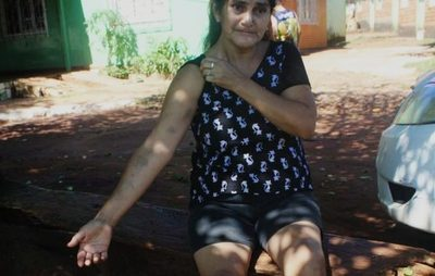 Mujer fue brutalmente golpeada por reclamar minicarga