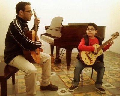 Concierto en guitarra en el Ateneo