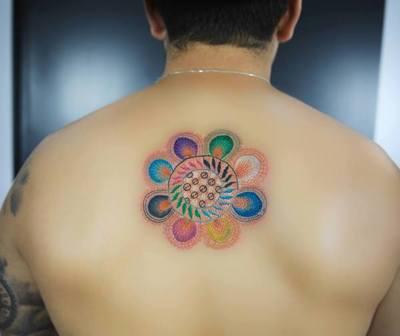 Tatuaje de Ñanduti