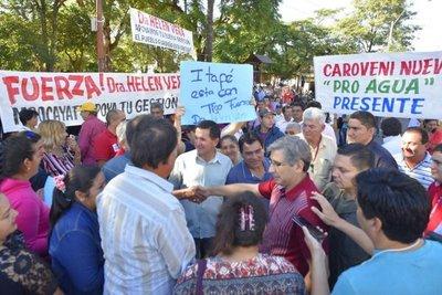 Repartija de cargos en Añeteté afecta a Guairá