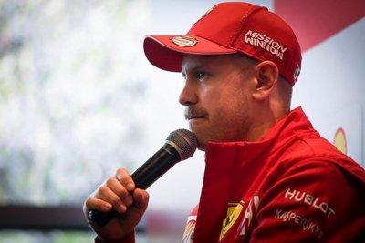"""Vettel: """"Quedan muchas carreras"""""""