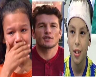 Nelson Haedo hizo derramar lágrimas a sus pequeños fanáticos
