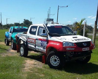 Se corre el Desafío Guaraní de Rally Cross Country