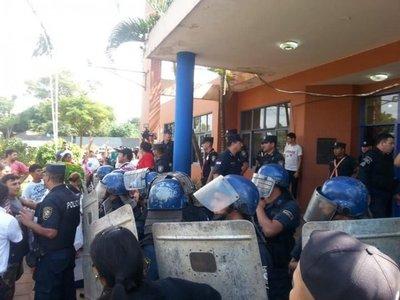Fiscalía allana Municipalidad de J. Augusto Saldívar
