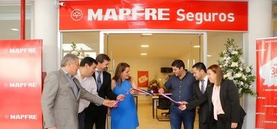 Inauguran nueva agencia de Mapfre en la ciudad de Ñemby