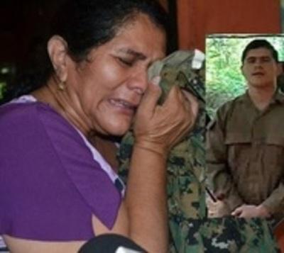Madre de Edelio exige audiencia con Mario Abdo
