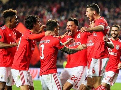 El Benfica saca ventaja ante el Eintracht
