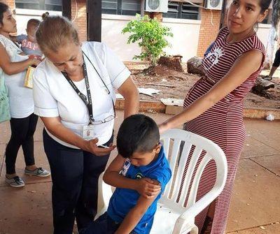 Vacunas antigripales ya están disponibles en los 22 distritos del Alto Paraná