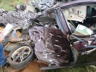 Accidente de tránsito deja una joven muerta en San Pedro