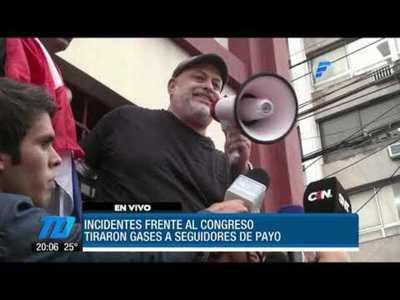 Payo anuncia manifestación para el 25 de abril