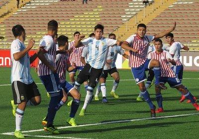 Sub-17: Argentina golea a Paraguay y deja en suspenso nuestra clasificación