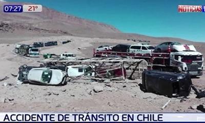 Paraguayos sufren grave accidente en Chile – Prensa 5