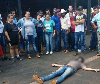 """Policías matan a supuestos """"motochorros"""" paraguayos en Brasil"""