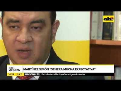 Martínez Simón genera mucha expectativa
