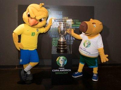 La mascota de la Copa América fue bautizada en homenaje al goleador Zizinho
