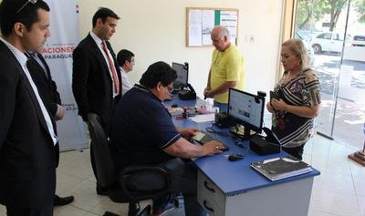 Habilitan sistema de control migratorio biométrico en Salto del Guairá