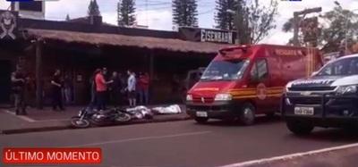 Paraguayos mueren abatidos por policía brasileña