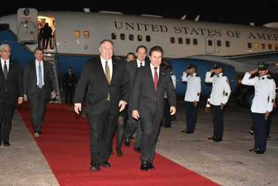 Secretario de Estado de EE.UU inicia visita para fortalecer cooperación con el Paraguay