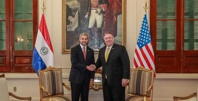 Abdo Benítez recibe a secretario de Estado de EEUU