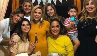 El Baby Shower Que Compartieron Lizarella Valiente Y Karina Doldán
