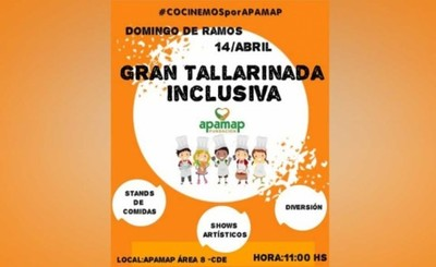 Apamap realizará tradicional tallarinada este domingo