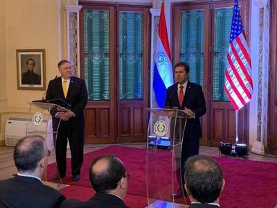 Secretario de Estado norteamericano felicitó a Paraguay por su transformación a una democracia floreciente