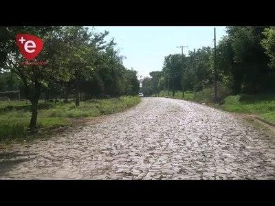 ENCARNACIÓN: MUNICIPIO INICIA CONSTRUCCIÓN DE EMPEDRADOS EN B° SANTA MARIA