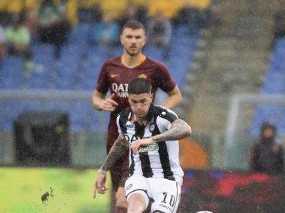 Dzeko mantiene vivo el sueño Champions de la Roma