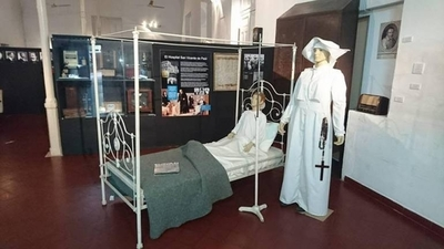 HOY / Capacitan a funcionarios del Museo Hospital de Clínicas