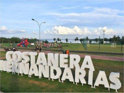 Playa de Hernandarias habilita área de camping para Semana Santa