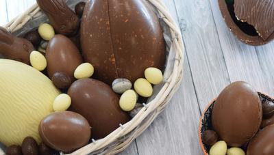 Aparecen los huevos de Pascua y desaparecen como arte de magia