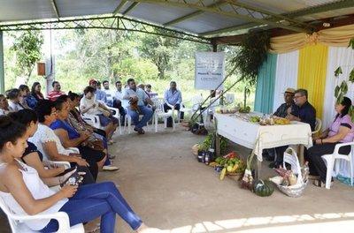Fomentan la agroecología en Horqueta, con aval de NN.UU.