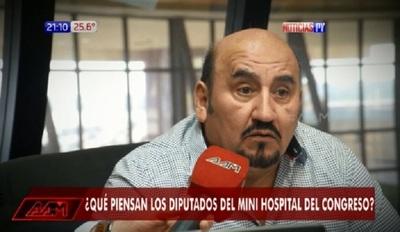 Diputado trata de boludo a periodista al ser consultado sobre nutricionista