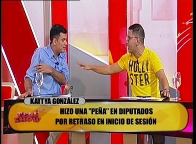 """Tensión en """"TeleShowMás"""", Pianito agredió a Sebas Rodríguez"""