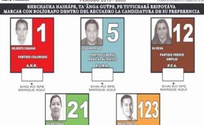 Oficializan boletas para elecciones del 5 de mayo