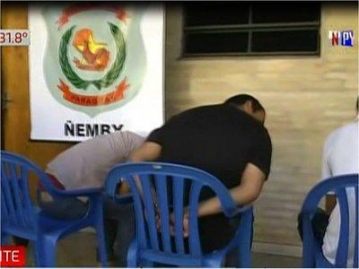 4 jóvenes detenidos en Ñemby tras asaltos, persecución y balacera