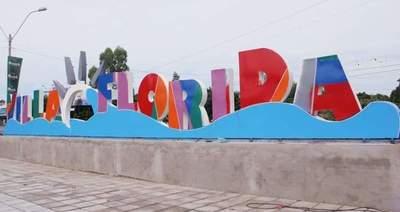 Semana Santa: En Villa Florida inaugurarán colorida letra corpórea