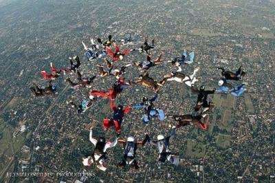 """""""Boogie Guaraní"""" 15ª Edición:  amantes del paracaidismo se  congregan para alta competencia"""