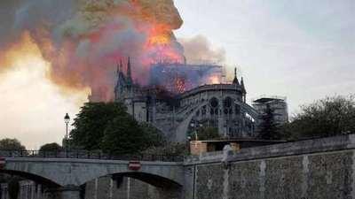 Donan 300 millones de euros para reconstruir Notre Dame
