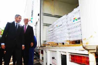 Itaipu entregó medicamentos e insumos para fortalecer servicios de Concepción y San Pedro