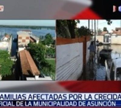 Ya son casi 10.000 desplazados por la crecida solamente en Asunción